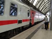 27th Aug 2015 - Train arrives .......
