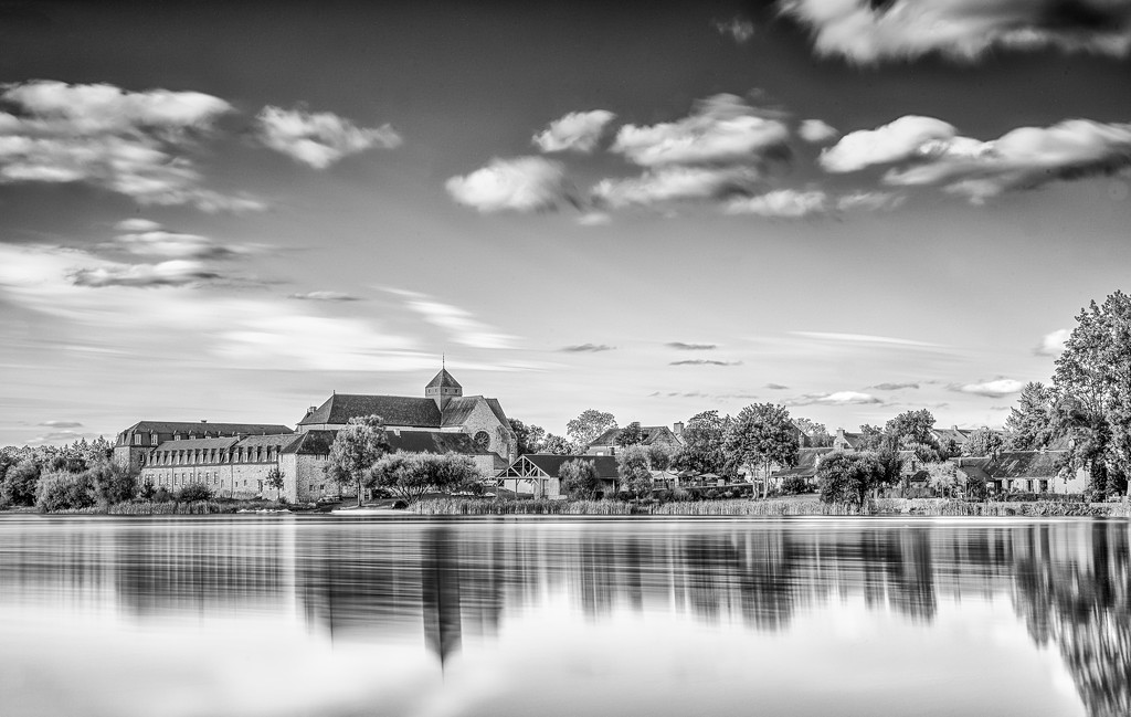 Paimpont Abbey:  A Longer Look. by vignouse