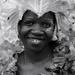 50 mono portraits at 50mm : No. 49 : Carnival Smile