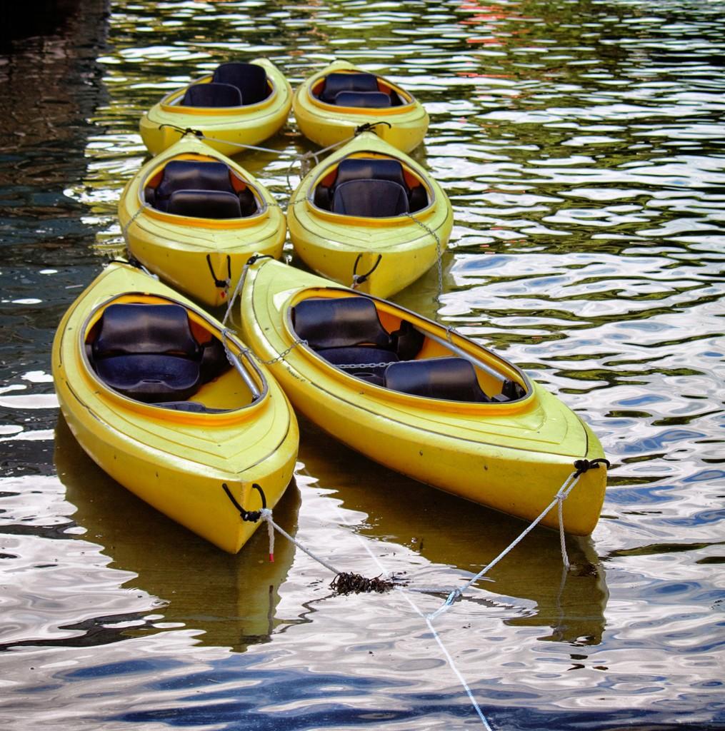 Canoes by swillinbillyflynn