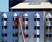 2nd Sep 2015 - Repainting..14 Story's up...