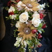 Bridal Bouquet with a Little Burlap and Bling