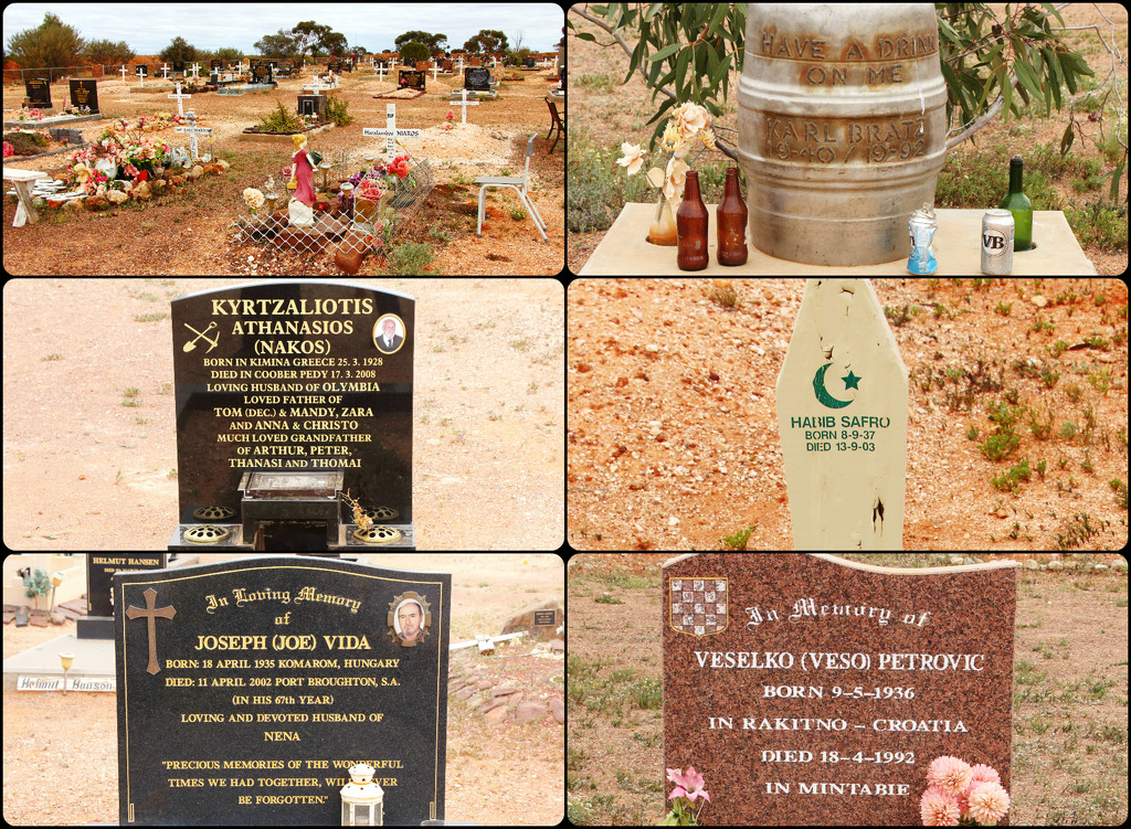 Coober Pedy Cemetery by terryliv