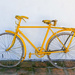 Yellow Bicycle  by salza