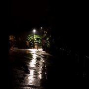 12th Sep 2015 - A Year of Days: Day 255 - A Rainy Night in Crest