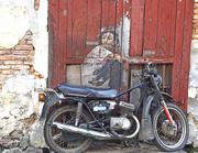 14th Sep 2015 - Motorcycle street art