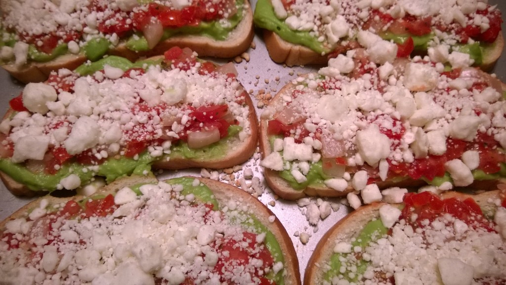 Homemade Bruschetta  by scoobylou