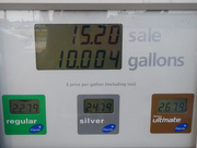 1st Sep 2015 - Travel day: Fuel prices in the heartland