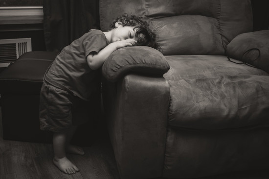 Tired Toddler by sarahsthreads