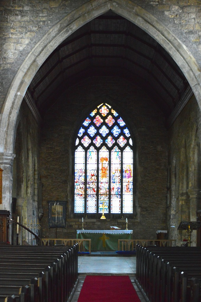 Altar St Laurence Priory by barneyone