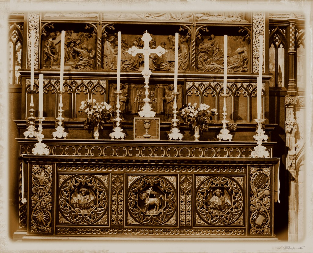 Selby Abbey High Altar  by barneyone