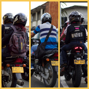 12th Sep 2015 - Identity:  Matching Numbers on Helmets and Plates