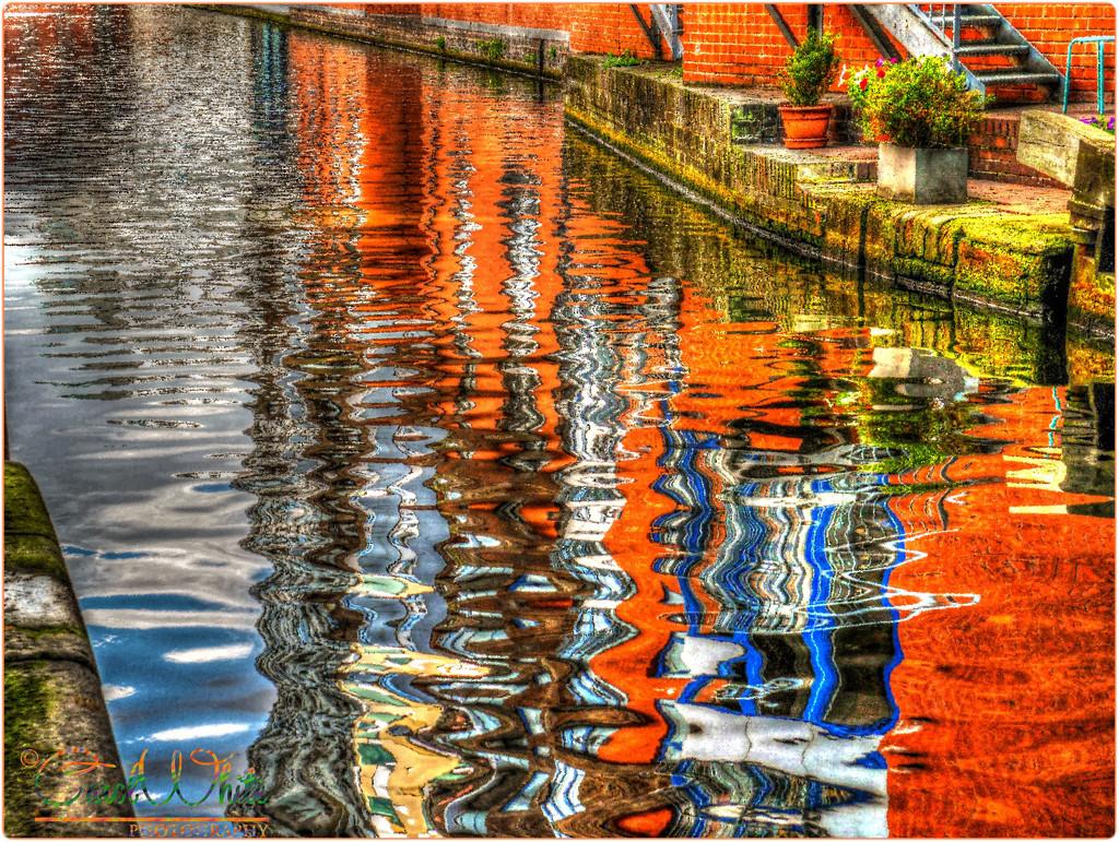 Canal Reflections. ETSOOI by carolmw