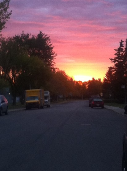 Urban Sunrise by bkbinthecity