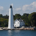New London Harbor Light by mccarth1