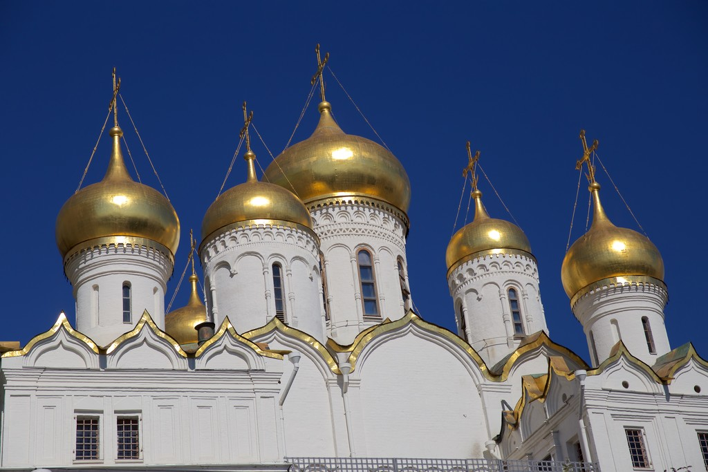Cathedral of the Annunciation at Kremlin by jyokota