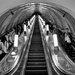 Moscow Subway Escalator by jyokota