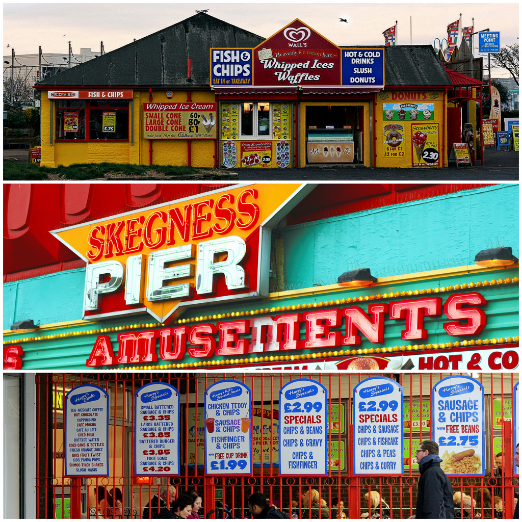 Skeggy Triptych by phil_howcroft