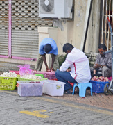 24th Sep 2015 - Indian traders sorting vegetables