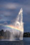 27th Sep 2015 - Fountain's Personal Rainbow