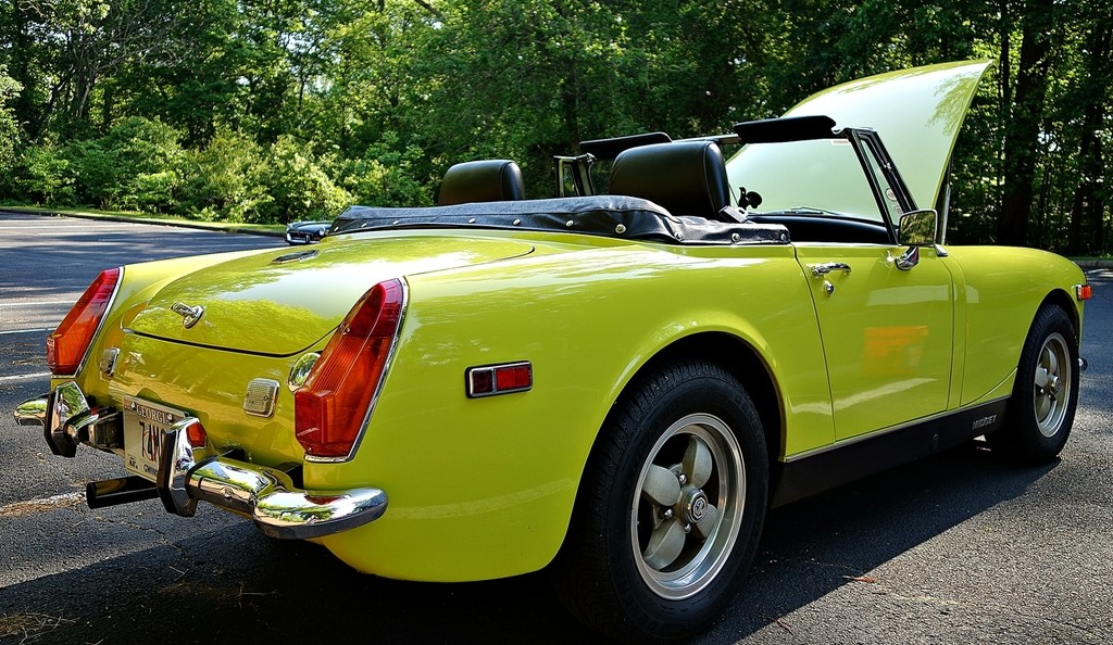 1974 MG Midget Mk III by soboy5