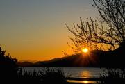 3rd Oct 2015 - Sundown reflected