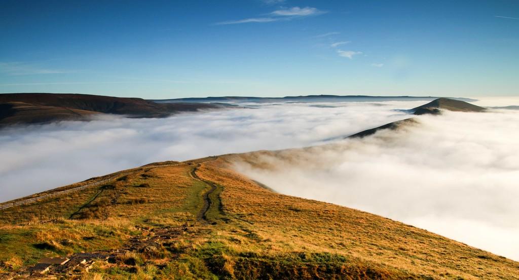 Path along the Ridge by shepherdmanswife