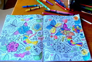 6th Oct 2015 - Creativity begins by playing with colour