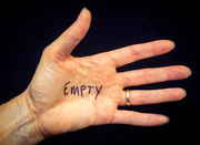 6th Oct 2015 - Empty Handed