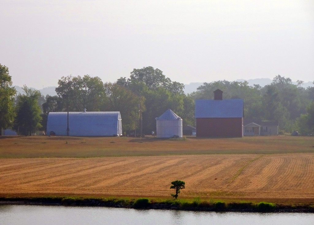 Hazy Farm  by jae_at_wits_end