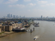 9th Oct 2015 - River Thames from Tower Bridge High Level Walkway