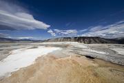 11th Oct 2015 - Mammoth Upper Terrace Yellowstone