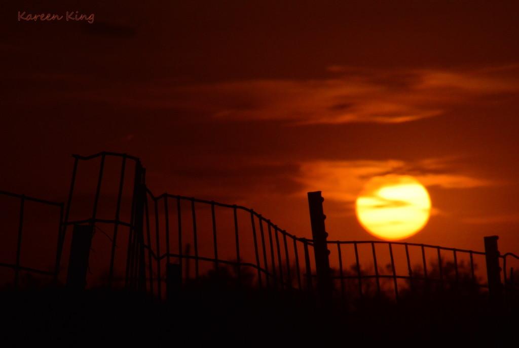 Kansas Sunset 10-15-15 by kareenking