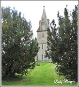 17th Oct 2015 - A Spire between the Bushes.