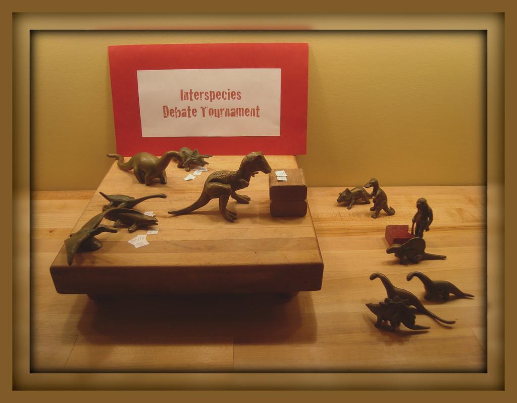 Interspecies Debate Tournament by mcsiegle