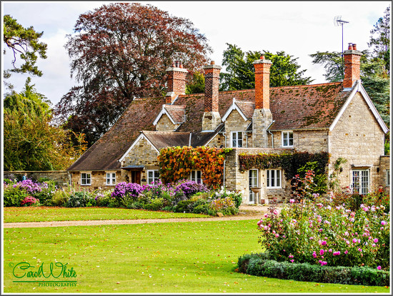A House In The Grounds Of Castle Ashby by carolmw