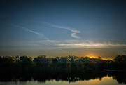 18th Oct 2015 - sunset on the lake