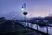 22nd Oct 2015 - Marina Boardwalk Foggy Dawn