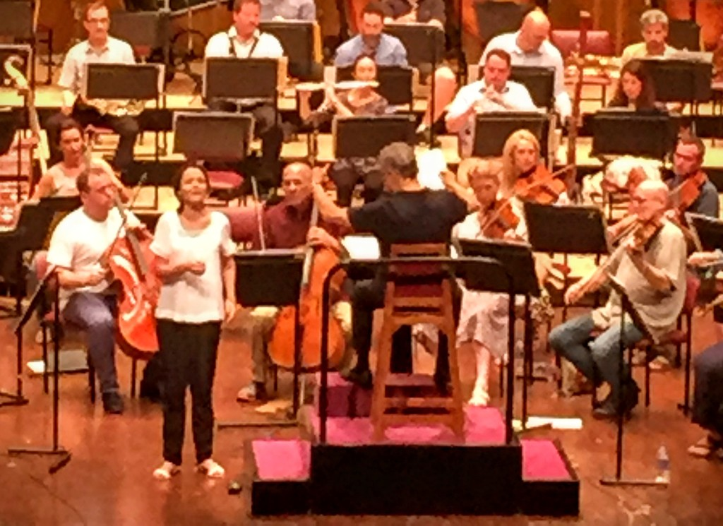 Singer in Zubin Mehta's orchestra by veengupta