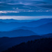 "Smoky Mountains Day 2 ""Blue Hour Sunset"" by darylo"
