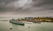 31st Oct 2015 - Portsmouth Harbour & HMS Bristol