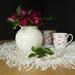 White roses by suebarni