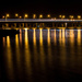 Ligth Trails across the Hawkesbury River  by nicolecampbell