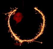 7th Nov 2015 - Happy birthday sparkler