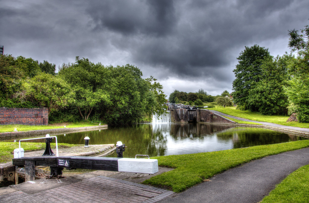 Nine Locks and the Storm Clouds.... by brickmaker
