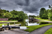 13th Jun 2015 -  Nine Locks and the Storm Clouds....