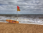 10th Jun 2015 -  Lifeguards and the Wind Farm.....
