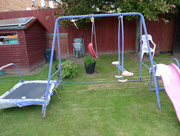 26th May 2015 - Removed the Old Swing.....