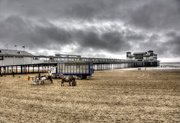 24th May 2015 -  Grand Pier and the Donkey Rides....