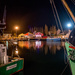 ONS 10 - Day 6: Low Light - Paimpol Port by Night by vignouse